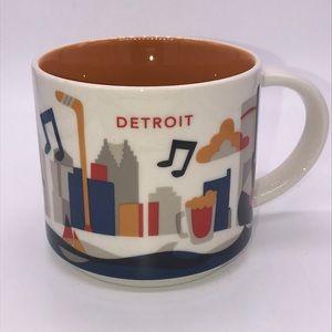 Starbucks | YAH Detroit Mug